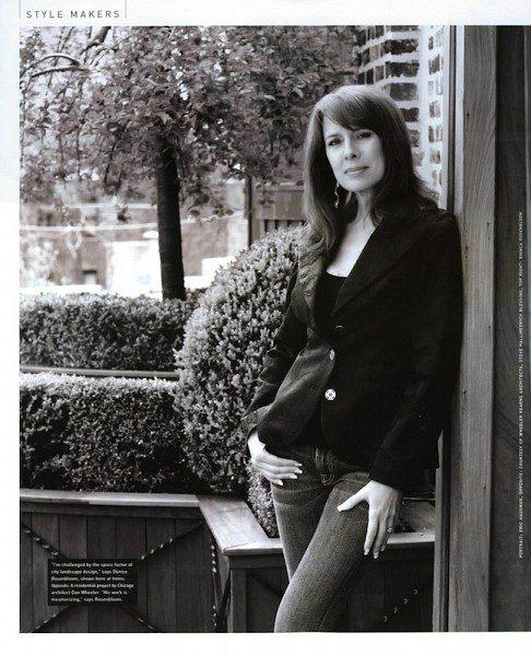 Chicago Landscape Designer, Denise Rosenbloom - Luxe Magazine