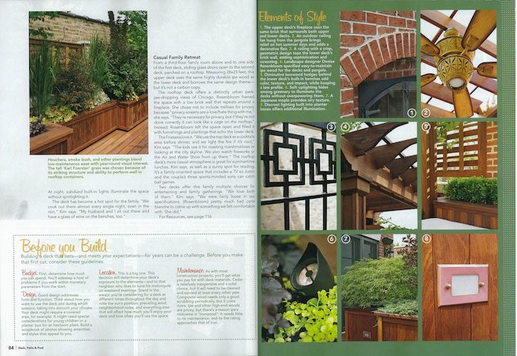 Rooftop Deck Design - Deck, Patio & Pool Magazine
