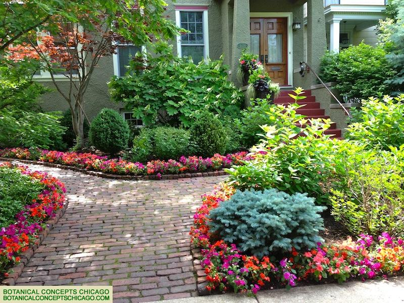 Colorful Outdoor Landscaping