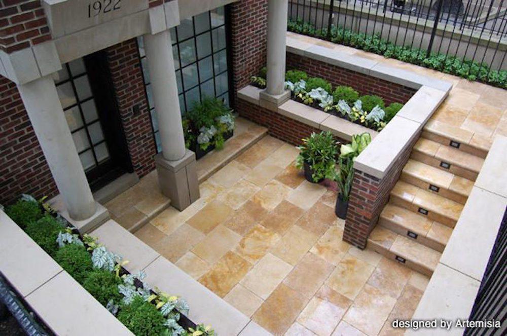 Polished Ingress - Chicago Landscaping Project