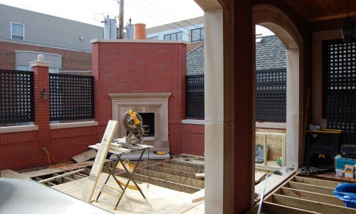 Colorado Setting - Chicago Roof Deck Project - Before