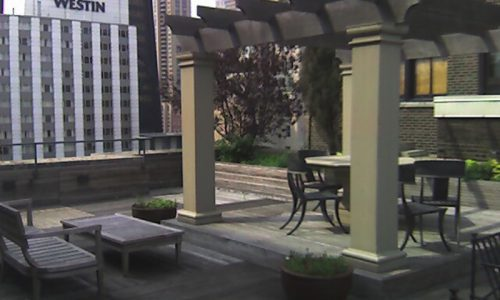 Egypt on the 20th Floor - Chicago Roof Deck Project - Before