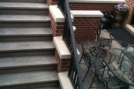 Ralph Lauren Inspired - Chicago Roof Deck Project - Before