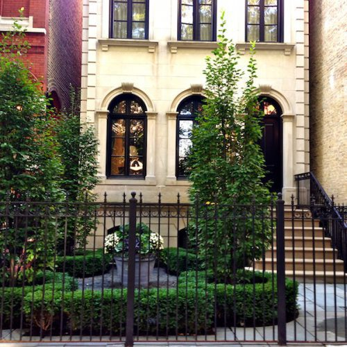 European Entry - Chicago Landscaping Project