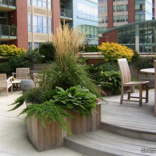 Chicago River Garden - Chicago Roof Deck Project
