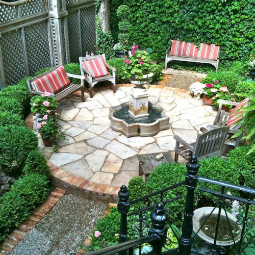 Secret Garden on State Parkway - Chicago Landscaping Project
