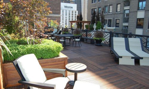 Egypt Egypt on the 20th Floor - Chicago Roof Deck Project & Planters