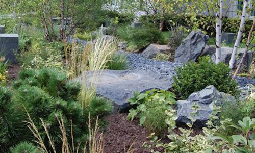 Healing Garden - Chicago Landscaping Project