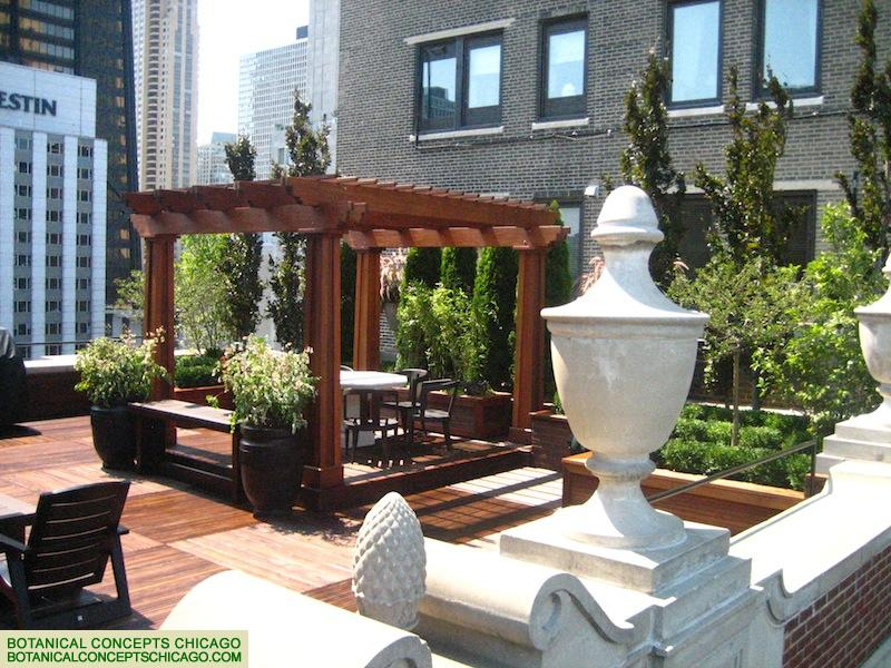 Egypt on the 20th Floor - Chicago Roof Deck Project