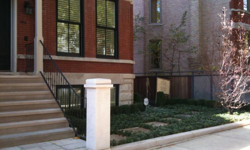 The Art of Simplicity - Chicago Landscaping Project - Before