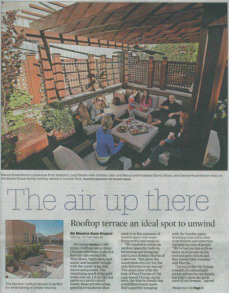 Green Roof Deck Design Article - Chicago Tribune