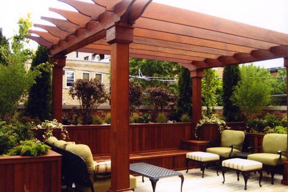 Lush Sanctuary - Chicago Roof Deck Project