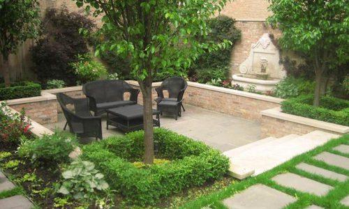 Sunken Garden in Chicago