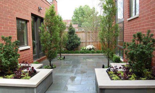Airy Atrium - Chicago Landscaping
