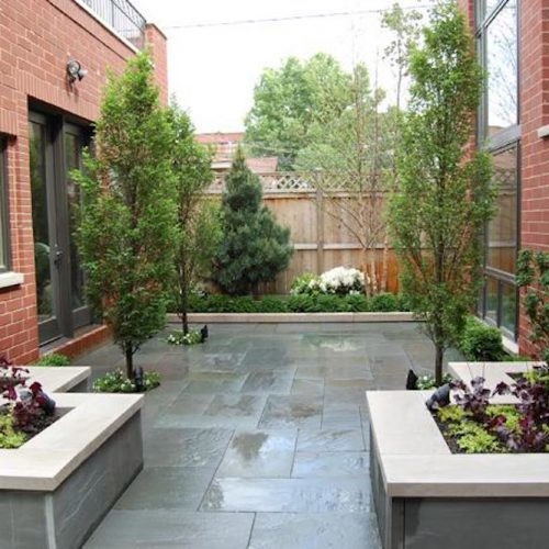 Airy Atrium - Chicago Landscaping