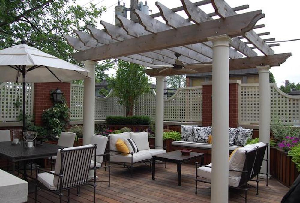 European Veranda - Chicago Roof Deck Project