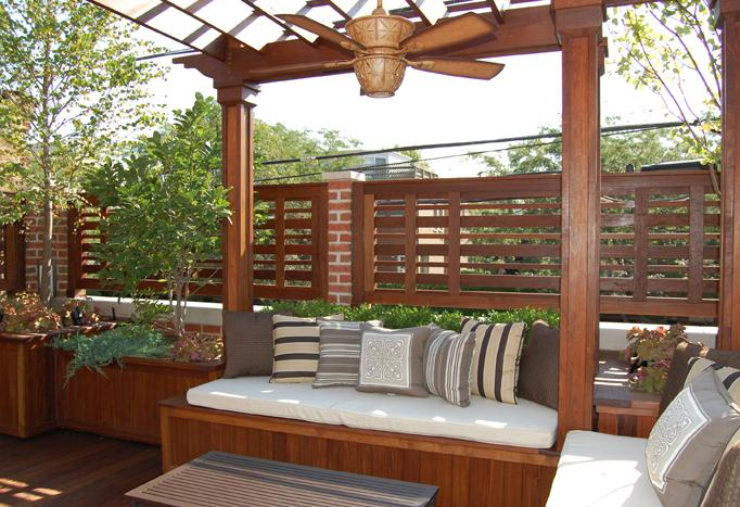 Sophisticated Surroundings - Chicago Roof Deck Project