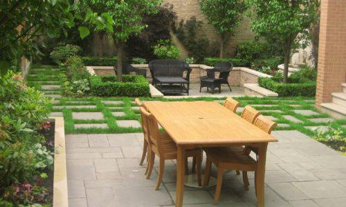Sunken Garden Oasis - Chicago Landscaping Project
