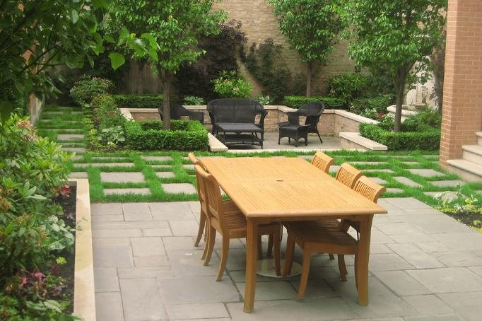Sunken Garden Oasis - Chicago Landscaping Project