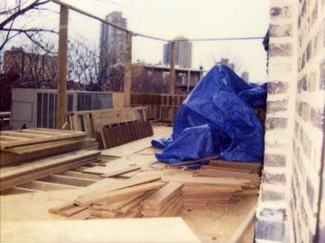 Romantic Retreat - Chicago Roof Deck Project - Before