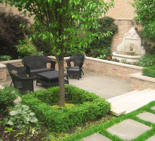 Courtyard Landscape Design