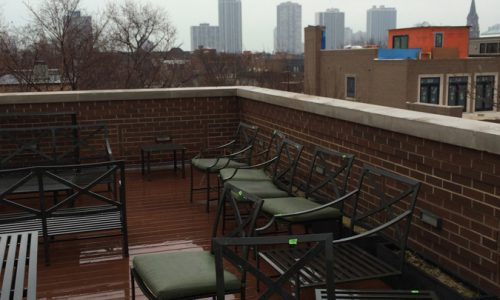 Heaven on Burling - Chicago Roof Deck Project - Before