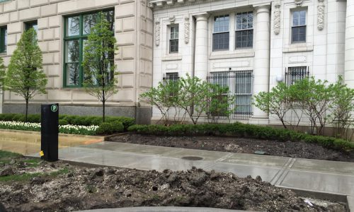 Lake Shore Drive Living - Chicago Landscaping Project - Before