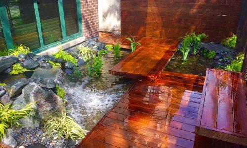 Liquid Hardscape - Chicago Landscaping Project