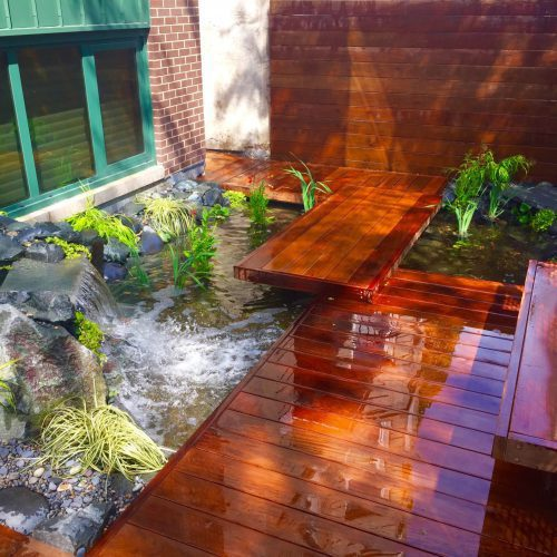 Liquid Hardscape - Chicago Landscaping Project