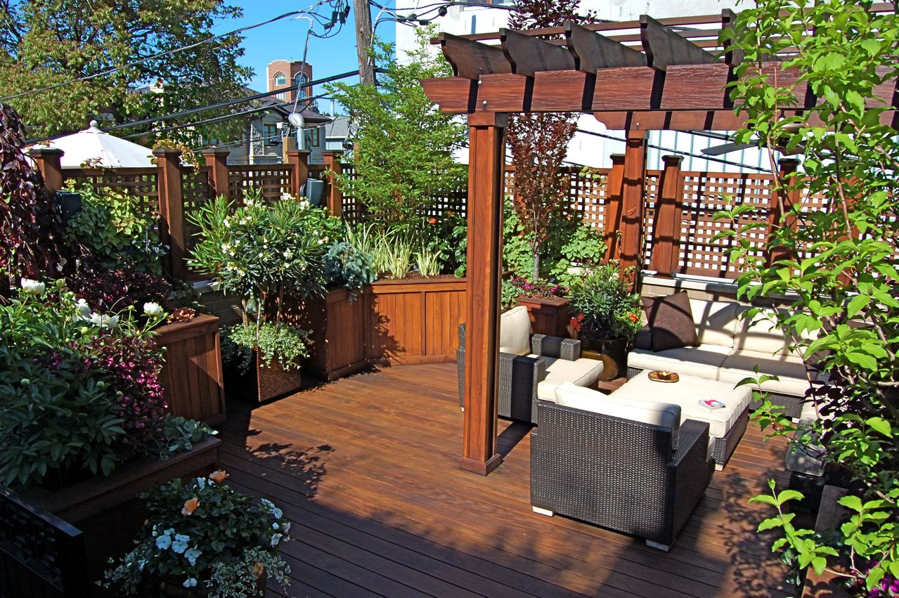 Green Lounge - Chicago Roof Deck Project