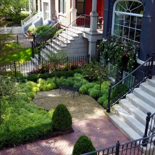 Cobblestone Chicago Landscaping Design