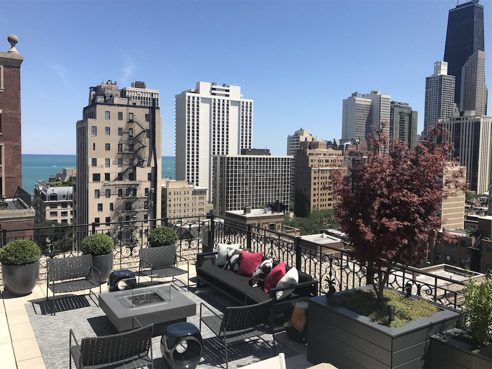 Chicago Rooftop Design and Landscaping: The Ambassador