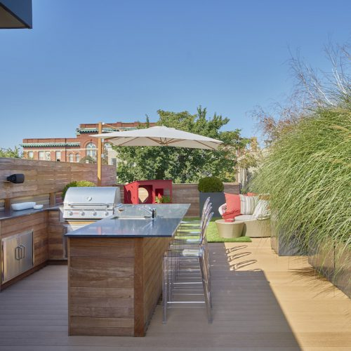 Kid Friendly Rooftop Garden