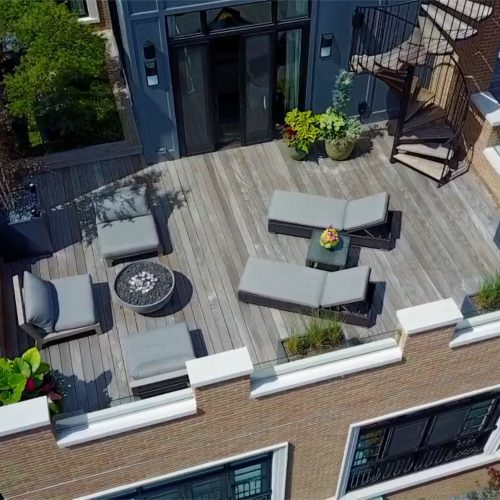 Wood Decking in Chicago
