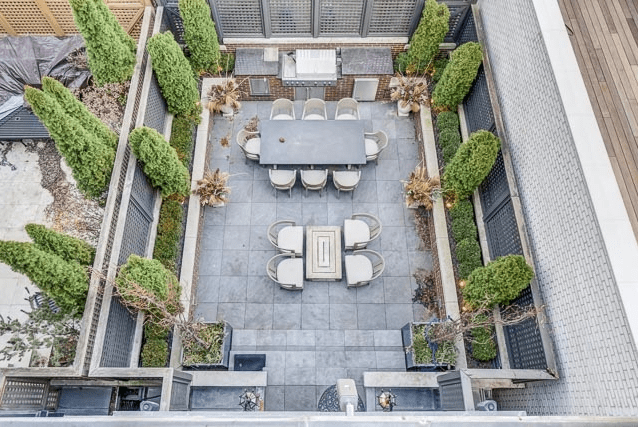 Botanical Concepts Chicago - Roof Deck Design
