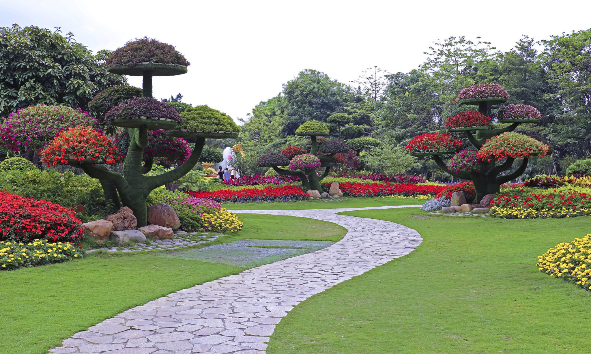 Tropical Landscape Design Botanical Concepts Chicago